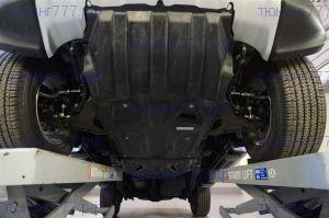 Защита картера + кпп + рк, АВС-Дизайн, композитная 8мм