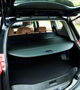 Шторка в багажник, черного цвета