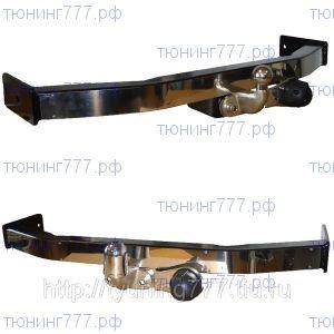 Фаркоп Baltex, крюк на 2х болтах, тяга 1.5т, накладка из нерж. стали
