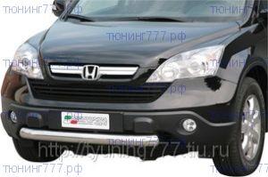 Защита переднего бампера Misutonida, нерж. сталь ф 76мм., а/м 2007-2009