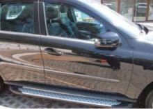 Боковые подножки Can, серия Сапфир, алюминий с резиновыми вставками