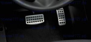 Накладки на педали, алюминиевые, Оригинал, а/м с Акпп/CVT
