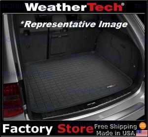 Коврик (поддон) в багажник, Weathertech, черный с бортиками