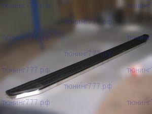 Боковые подножки, Winbo, нерж. сталь, с пластмассовой накладкой