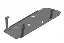 Защита бензобака, Motodor, сталь 3мм., V - 2.8л TD