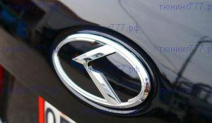 Эмблема K, на крышку багажника, 3 цвета