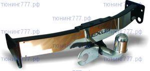 Фаркоп Baltex, крюк на 2х болтах и пластина из нерж. стали, тяга 1.5т