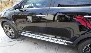 Боковые подножки cnt4x4, стиль BMW, к-кт