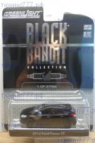 Модель FORD FOCUS ST, BLACK BANDIT, масштаб 1/64