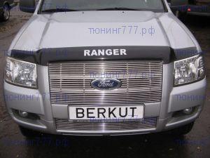 Решетка радиатора, Berkut, полированая нерж. сталь, а/м 2006-2008