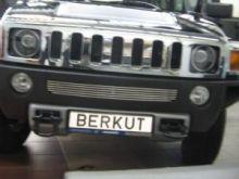 Решетка в бампер, Berkut, полированая нерж. сталь, а/м 2005-2010