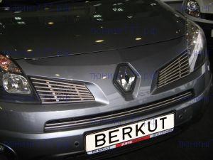 Решетка радиатора, Berkut, нерж. сталь, а/м 2008-2011
