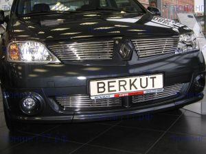 Решетка радиатора Berkut, нерж. сталь, а/м 2004-2008