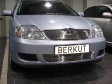 Решетка в бампер, Berkut, нерж. сталь, а/м 2004-2006