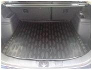 Коврик (поддон) в багажник с органайзером, Aileron, полиуретановый с бортиками