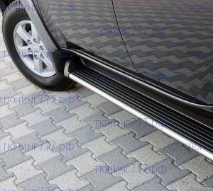 Боковые подножки ARP, серия Avangarde Black, алюминиевые