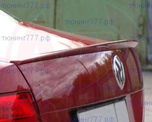 Спойлер на крышку багажника, седан, под окраску