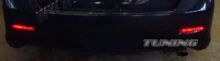 Катафоты в задний бампер, светодиодные