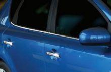 Накладки на ручки 4х дверей, Omsa, нерж. сталь, а/м 2010-2012