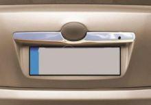 Накладка на крышку багажника, Omsaline, над номером, нерж. сталь