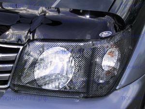 Защита фар Egr, карбоновая, на а/м 2002-2004