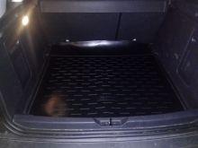 Коврик (поддон) в багажник, Aileron, черный с бортиком для 2WD