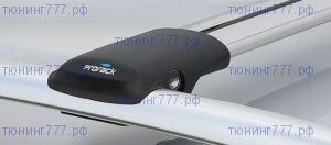 Багажник на рейлинги, Whispbar, аэродинамические дуги, а/м 2002-2006
