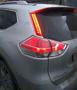 Фонари светодиодные LED, на крышку багажника, к-кт