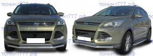Защита переднего бампера SL, нерж. сталь ф 57мм., для 2013-2016