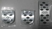Накладки на педали Nouble, алюминий, а/м с Мкпп