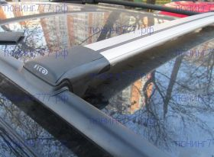 Багажник на рейлинги, Fico, аэродинамические дуги
