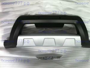Накладка на передний бампер cnt4x4, пластик