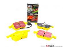 Тормозные колодки EBC, серия Yellow Stuff, задний к-кт для 5.0 Supercharged 2009-2013