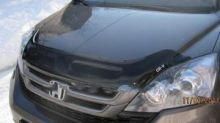 Дефлектор капота EGR, темнодымчатый, с логотипом, а/м 2010-2012