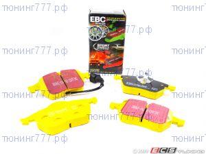 Тормозные колодки EBC, серия Yellow Stuff, задний к-кт для 2.0-2.4л Акпп