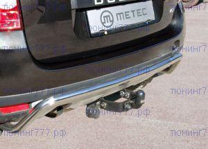 Фаркоп Metec, крюк на 2х болтах, без электрики, тяга 1.5т