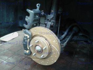 Диски тормозные, EBC, серия TurboGroove, передний к-кт на 2.4 и 3.0л