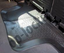 Коврик на 3й ряд сидений, полиуретановый черный