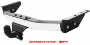 Фаркоп Bosal Vfm, серия LUX, тяга 2т и пластина из нерж. стали с логотипом