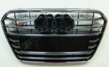 Решетка радиатора, cnt4x4, (черная/хром) стиль S6