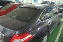Козырек на заднее стекло, окрашеный, вариант II, на седан 4дв.