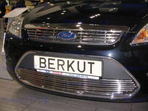 Решетка радиатора, Berkut, полированая нерж. сталь, а/м 2008-2010