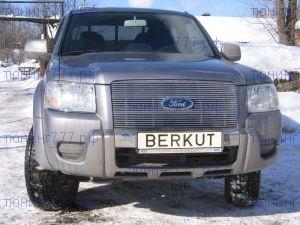 Решетка радиатора, Berkut, полированая нерж. сталь, а/м 2009-2011