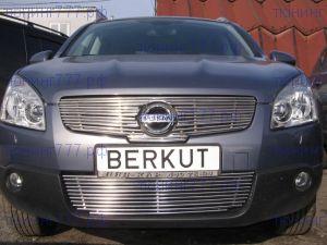 Решетка радиатора Berkut, нерж. сталь, а/м 2008-2009