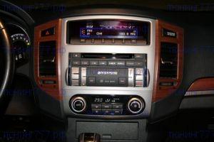Накладка-окантовка блока аудиосистемы, Оригинал, серебро