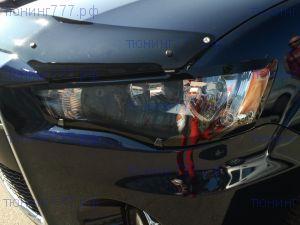 Защита фар EGR, прозрачная с черной окантовкой
