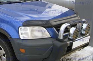 Дефлектор капота, Egr, темнодымчатый, а/м 1997-2001