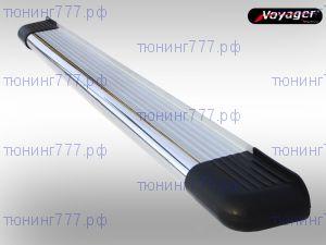Боковые подножки Voyager, серия Kerasus, алюминий c трубой из нерж. стали ф 60мм