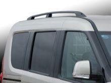 Рейлинги крыши Voyager, алюминиевые, черные
