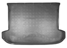Коврик (поддон) в багажник, Unideс, полиуретан, черный с бортиками